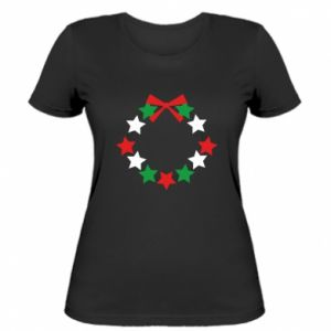 Women's t-shirt A wreath of stars