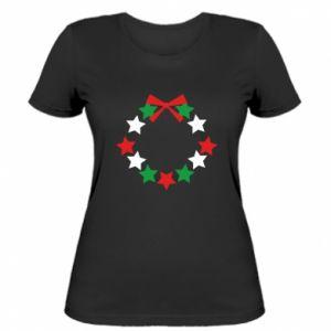 Damska koszulka Wieniec gwiazd