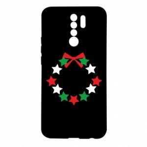 Etui na Xiaomi Redmi 9 Wieniec gwiazd