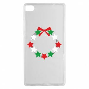 Huawei P8 Case A wreath of stars