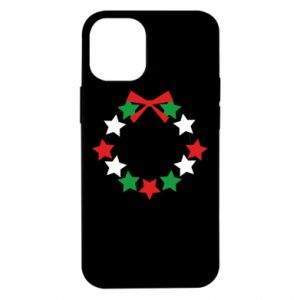 Etui na iPhone 12 Mini Wieniec gwiazd