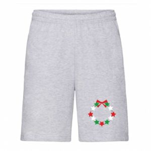 Men's shorts A wreath of stars