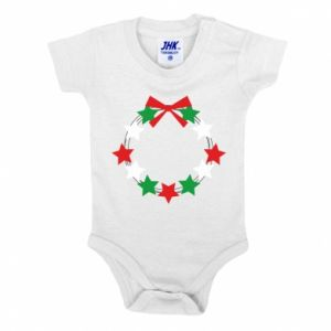 Baby bodysuit A wreath of stars