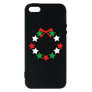 Phone case for iPhone 5/5S/SE A wreath of stars