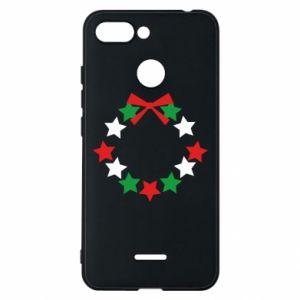 Phone case for Xiaomi Redmi 6 A wreath of stars