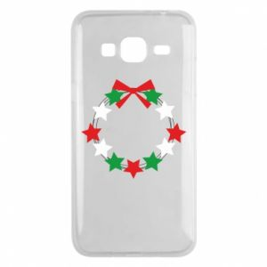 Phone case for Samsung J3 2016 A wreath of stars