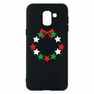 Phone case for Samsung J6 A wreath of stars