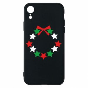 iPhone XR Case A wreath of stars