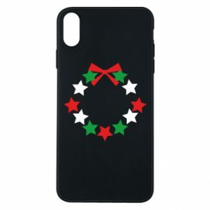 Phone case for iPhone Xs Max A wreath of stars