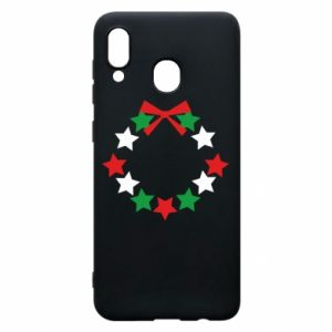 Phone case for Samsung A30 A wreath of stars