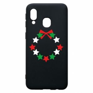 Phone case for Samsung A40 A wreath of stars