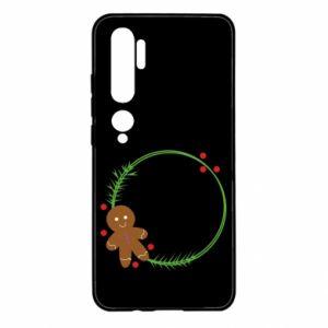 Xiaomi Mi Note 10 Case Gingerbread Man Wreath