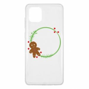 Samsung Note 10 Lite Case Gingerbread Man Wreath