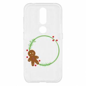 Nokia 4.2 Case Gingerbread Man Wreath