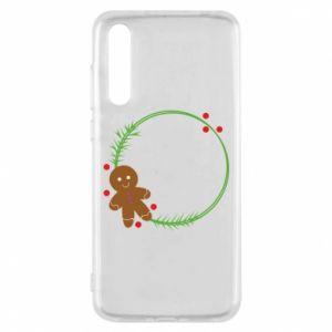 Huawei P20 Pro Case Gingerbread Man Wreath