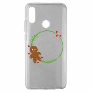 Huawei Honor 10 Lite Case Gingerbread Man Wreath
