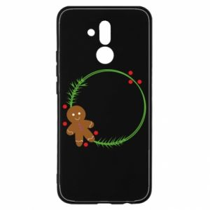 Huawei Mate 20Lite Case Gingerbread Man Wreath