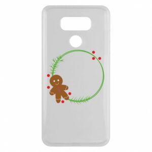 LG G6 Case Gingerbread Man Wreath