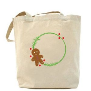 Bag Gingerbread Man Wreath