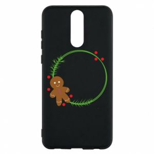 Phone case for Huawei Mate 10 Lite Gingerbread Man Wreath