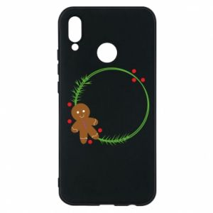 Phone case for Huawei P20 Lite Gingerbread Man Wreath