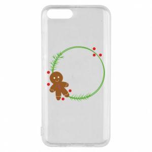 Phone case for Xiaomi Mi6 Gingerbread Man Wreath