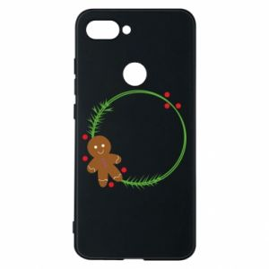 Phone case for Xiaomi Mi8 Lite Gingerbread Man Wreath