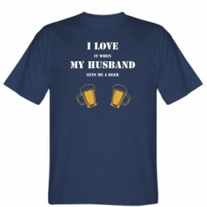 T-shirt Wife and beer