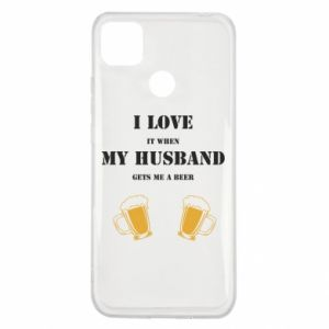 Xiaomi Redmi 9c Case Wife and beer