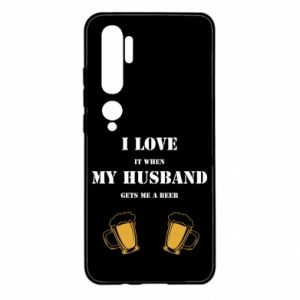 Xiaomi Mi Note 10 Case Wife and beer
