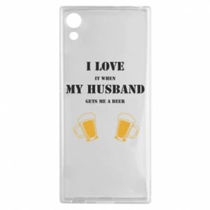 Sony Xperia XA1 Case Wife and beer