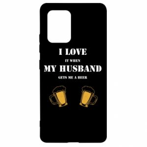 Samsung S10 Lite Case Wife and beer