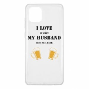 Samsung Note 10 Lite Case Wife and beer