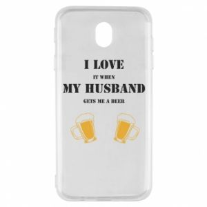 Samsung J7 2017 Case Wife and beer