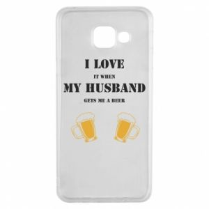Samsung A3 2016 Case Wife and beer