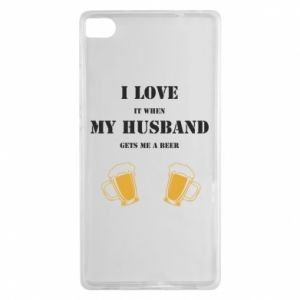 Huawei P8 Case Wife and beer