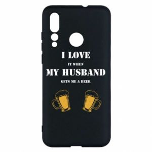 Huawei Nova 4 Case Wife and beer