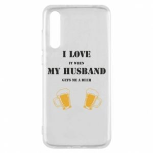 Huawei P20 Pro Case Wife and beer