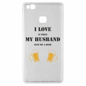 Huawei P9 Lite Case Wife and beer
