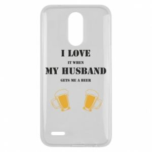 Lg K10 2017 Case Wife and beer