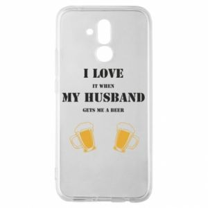 Huawei Mate 20Lite Case Wife and beer