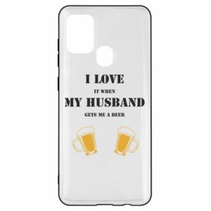 Samsung A21s Case Wife and beer