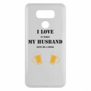LG G6 Case Wife and beer