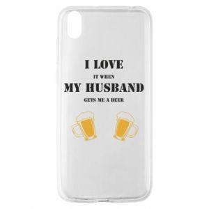 Huawei Y5 2019 Case Wife and beer