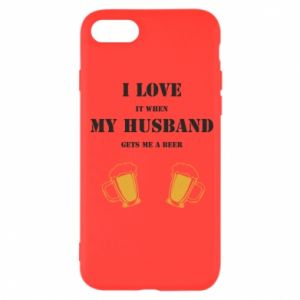iPhone SE 2020 Case Wife and beer