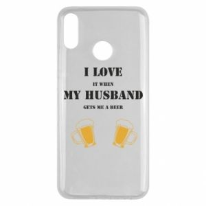 Huawei Y9 2019 Case Wife and beer