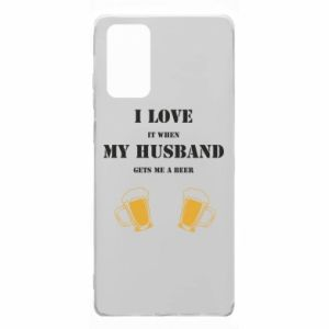 Samsung Note 20 Case Wife and beer