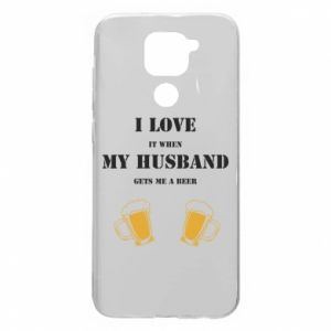 Xiaomi Redmi Note 9 / Redmi 10X case % print% Wife and beer