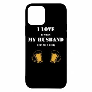 iPhone 12/12 Pro Case Wife and beer