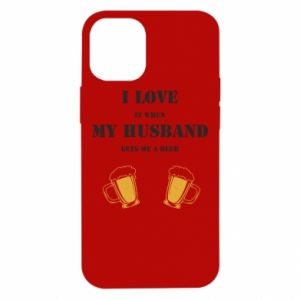 iPhone 12 Mini Case Wife and beer